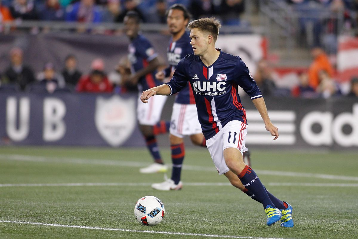 Rowe has scored 25 goals for the Revs, but his work extends far beyond Gillette Stadium.