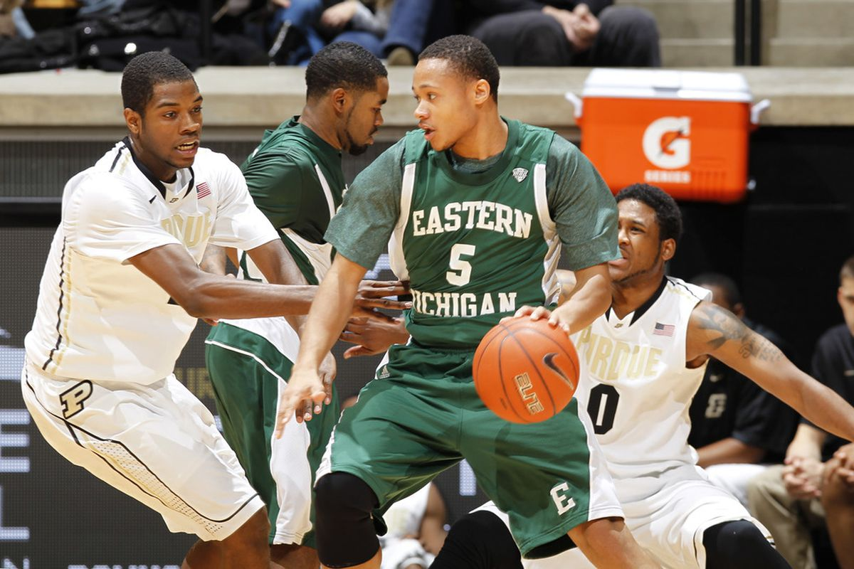 Derek Thompson and the Eastern Michigan Eagles would have enjoyed the #2 seed last season.