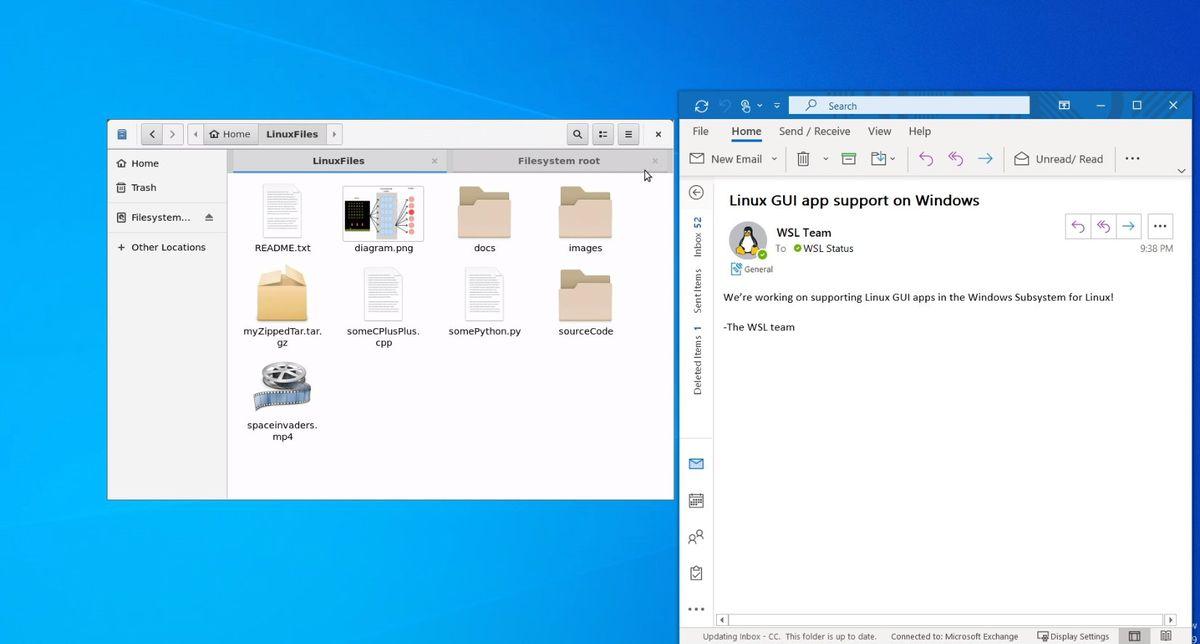 微软将Linux GUI应用程序引入Windows 10插图(1)