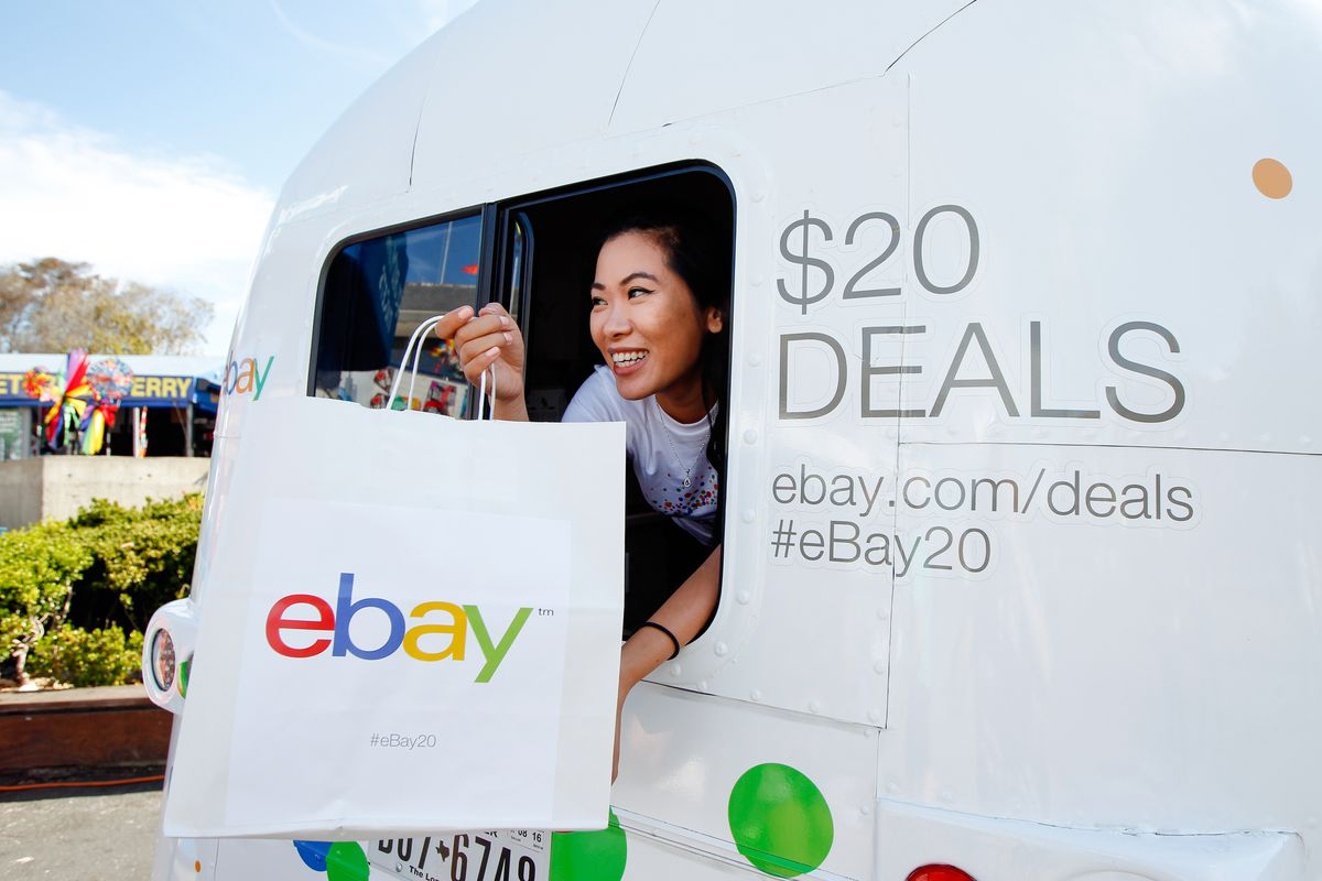 eBay's 20th Anniversary Airstream Rolls Into San Francisco To Offer Shoppers Incredible $20 Deals Across Fashion, Tech And Home