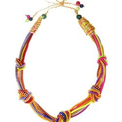 """<b>Sequence</b> <a href=""""http://www.shoplatitude.com/5-knot-necklace.html"""">Five-Knot Necklace</a>"""