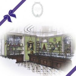 A rendering of the inside courtesy Ladurée