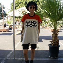 Ivana Arellanes repped cool streetwear style.