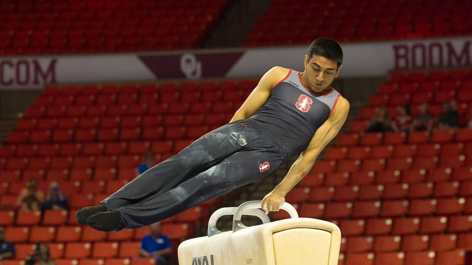 Stanford Men S Gymnastics Same Thing Different Day