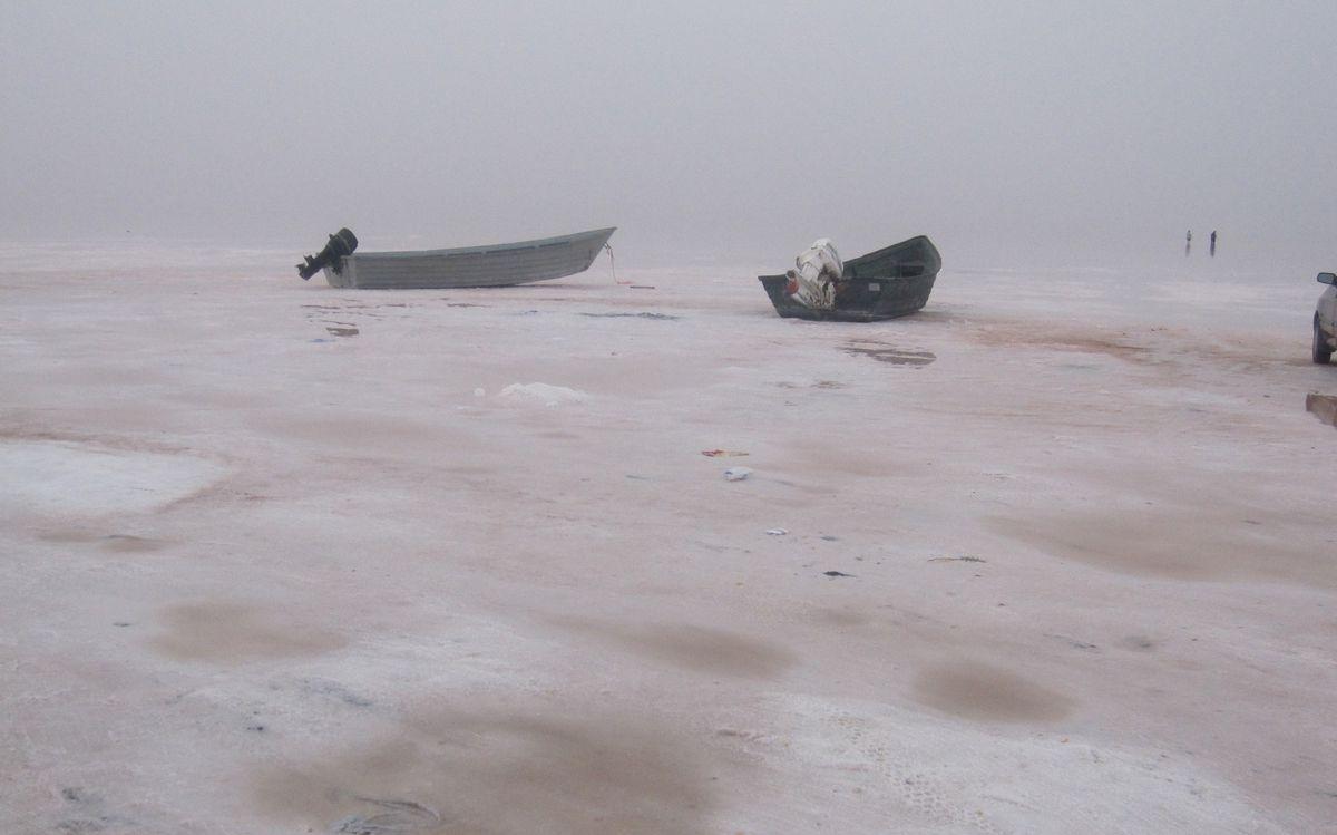 Lake Urmia in Iran is drying up just like Utah's Great Salt Lake.