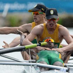 South Africa rowers: Photo by Damien Meyer – IOPP Pool /Getty Images