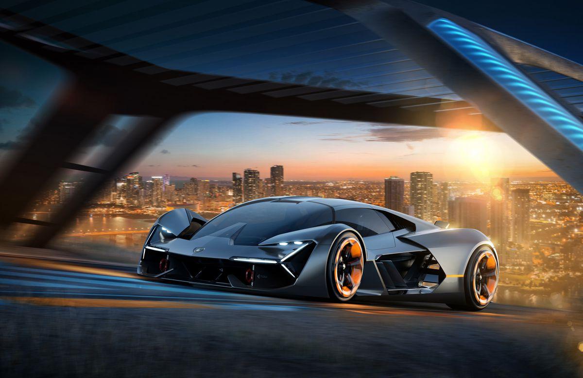 Lamborghini Terzo Millennio 3 4 front