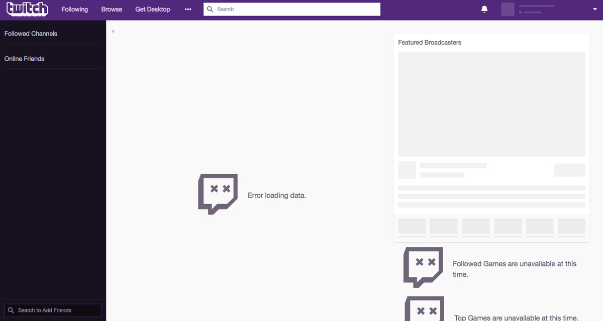 Is Twitch Down?