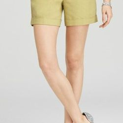 """<a href=""""http://www.anntaylor.com/ann/product/AT-Weddings-Events/AT-Honeymoon/Falling-Imprint-Cotton-Side-Zip-Shorts/278915?colorExplode=false&skuId=11515982&catid=cata000048&productPageType=saleProducts&defaultColor=1166"""">Linen Twill Shorts</a>, $20.92 ("""