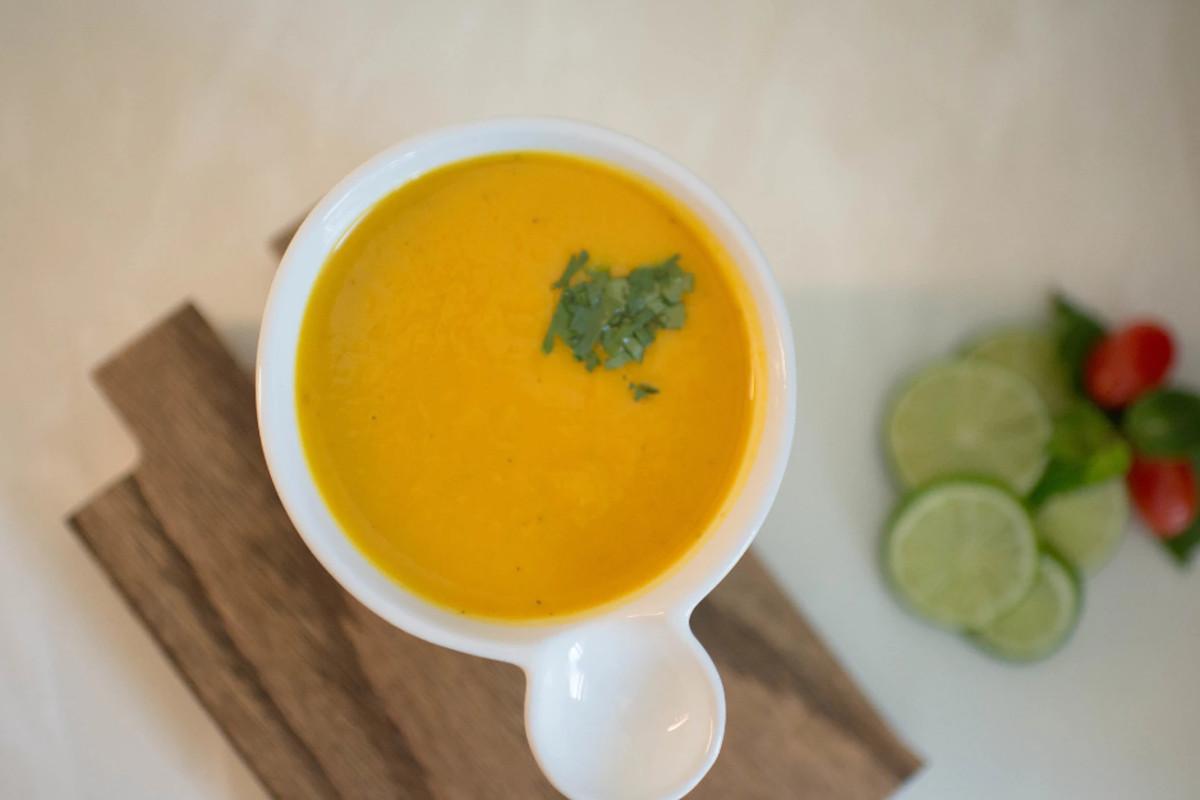 Seasonal soup at Vivalia, new in Old Port