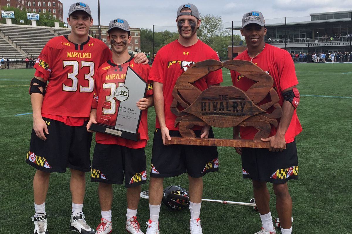 Maryland men's and women's lacrosse won outright Big Ten titles this week