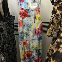 Floral gown, $300 (was $1,490)