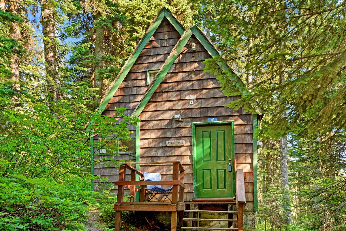 Photos Tiny House Seattle Wa: Retreat To A Tiny House In Snoqualmie Pass For Under $100K