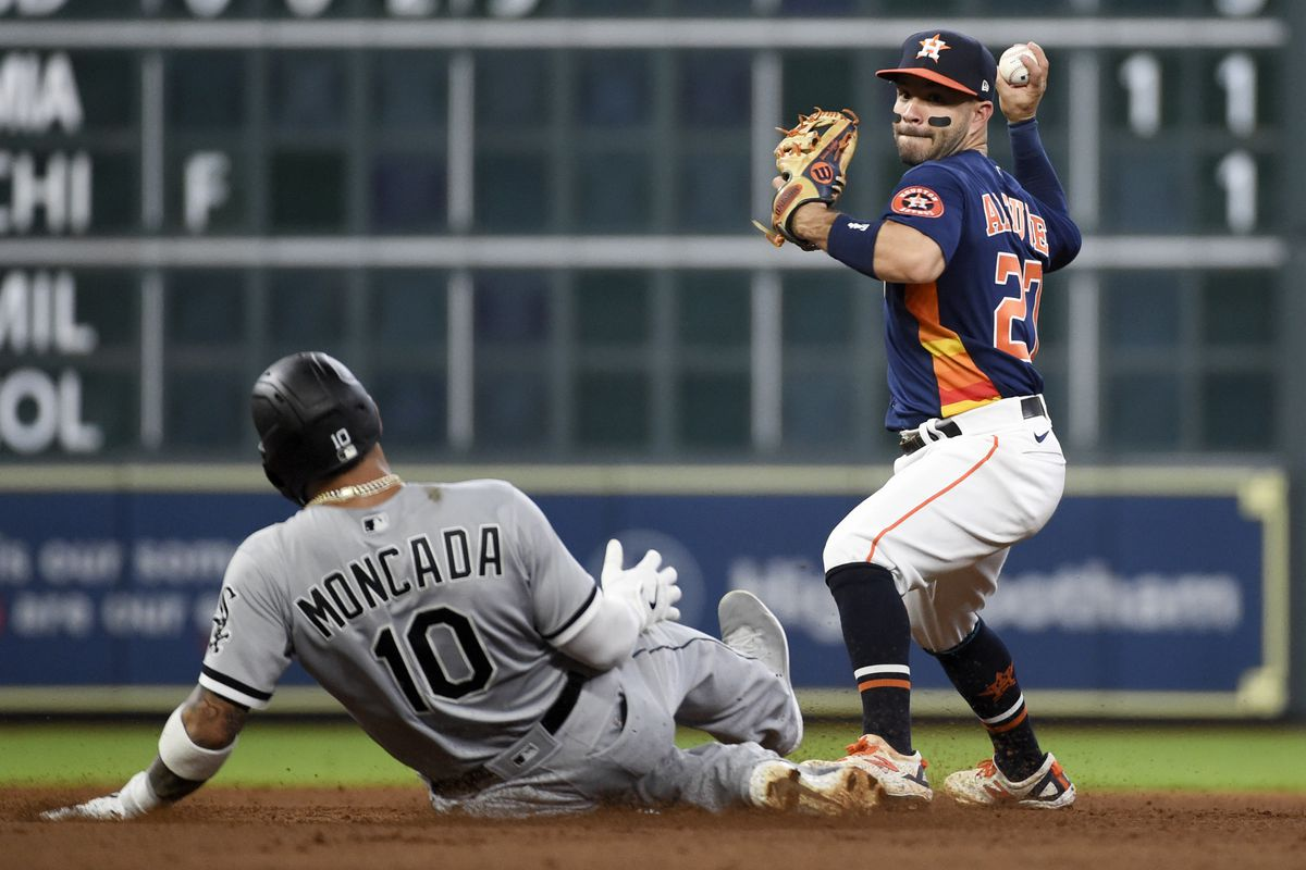 The White Sox and Astros open their playoff series Thursday in Houston.
