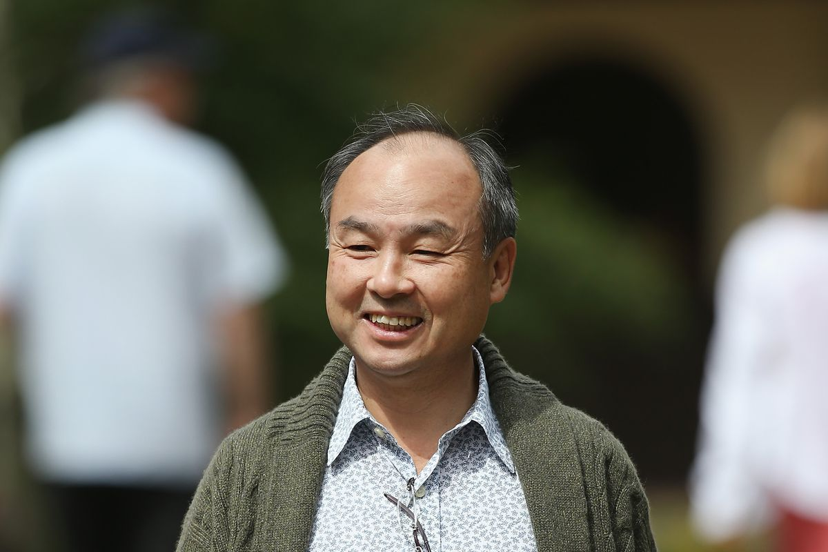 SoftBank founder and CEO Masayoshi Son at Sun Valley Conference in Idaho
