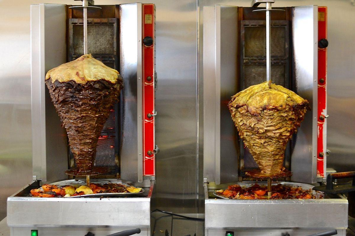 Shawarma at Saj's Bakery in Granada Hills