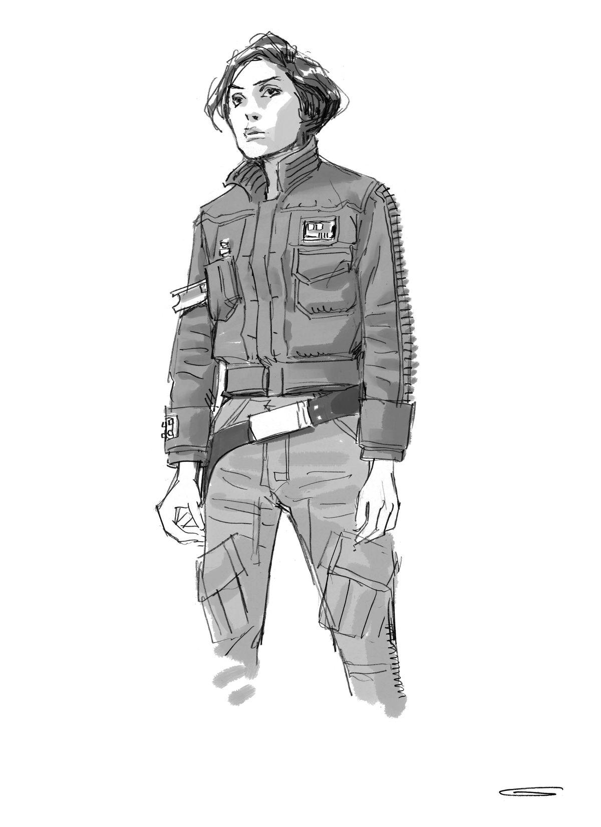 Jyn in Rebel Jacket Version 4