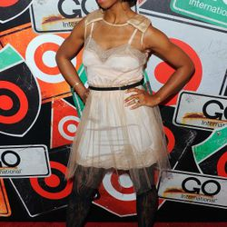 NEW YORK, NY - MARCH 10:  Musician Santigold attends the GO International Designer Collective Launch at the Ace Hotel on March 10, 2011 in New York City.  (Photo by Andrew H. Walker/Getty Images) *** Local Caption *** Santigold