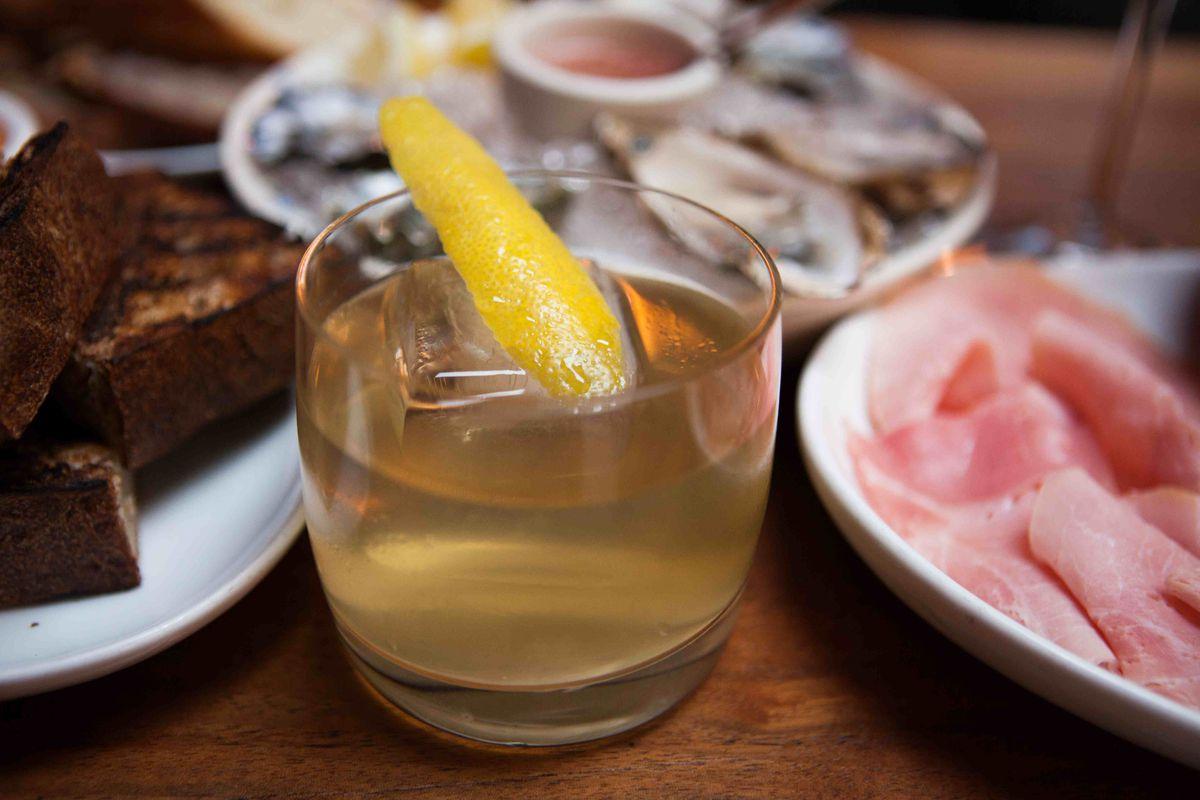 Trifecta Tavern Clarified Milk Punch