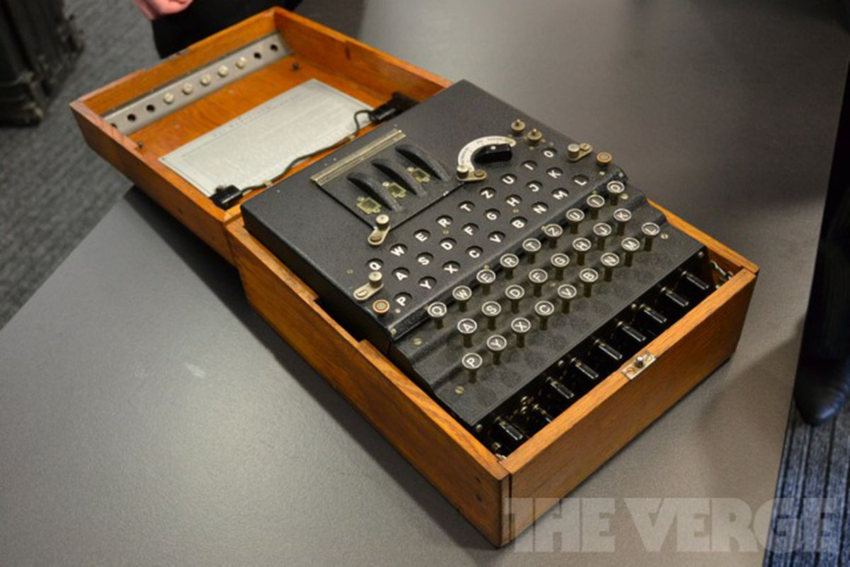 how to make an enigma machine