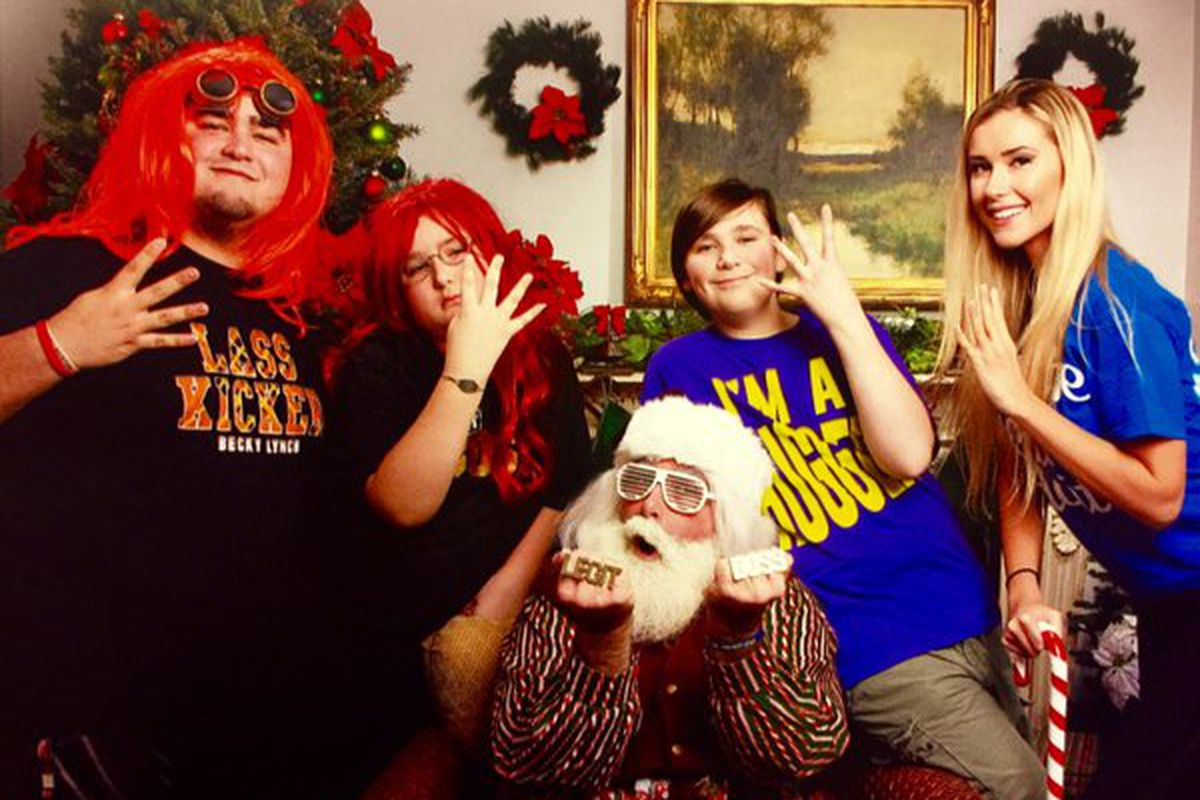 Mick Foley Combines His Love Of Santa And Women S