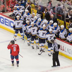 Ovechkin With the Blues