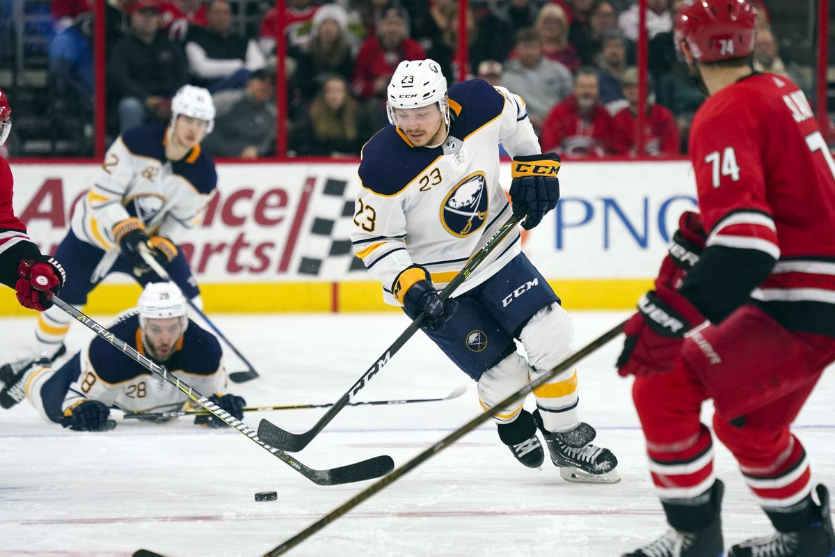NHL: Buffalo Sabres at Carolina Hurricanes