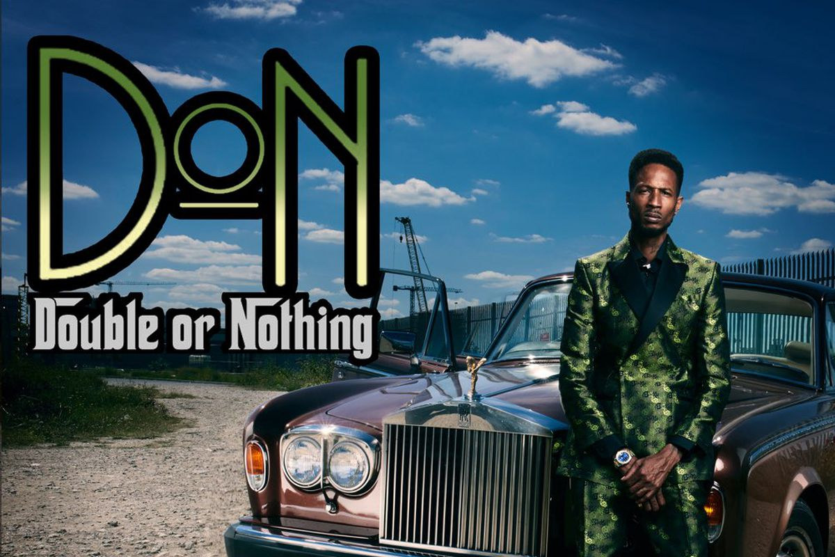 D Double E's 'Double Or Nothing' artwork