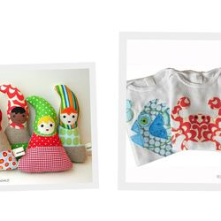 """Children's clothes and toys by <a href=""""http://www.etsy.com/shop/tadpolecreations?ref=seller_info"""">Tadpole Creations</a>."""