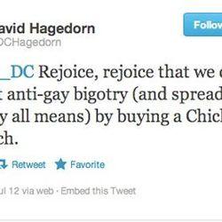 Food writer David Hagedorn