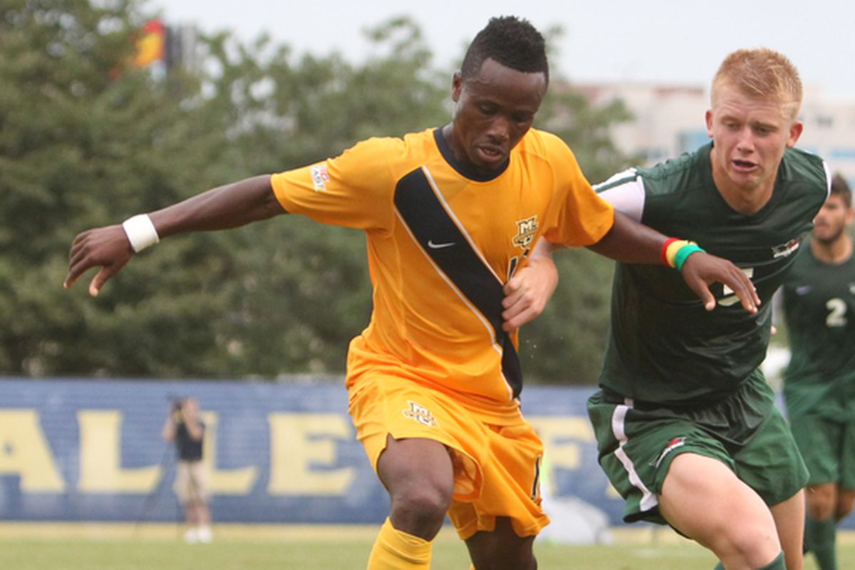 The 50th season of Marquette soccer may depend on the educated feet of C. Nortey.
