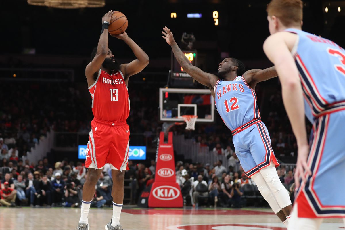 Hawks undone by second half three-point shooting in loss to Rockets ... 6a645dae1