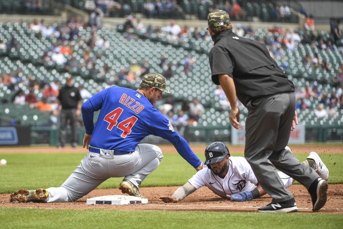 Chicago Cubs v Detroit Tigers