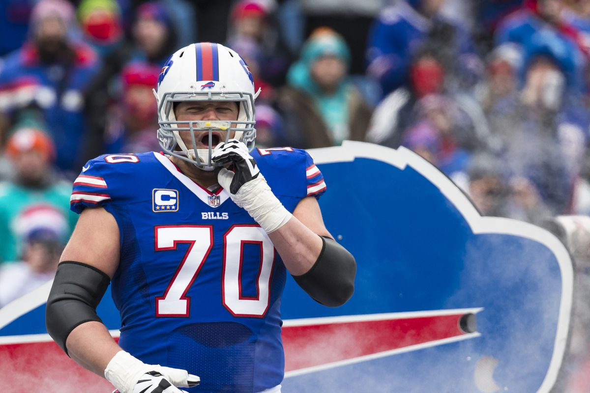 Bills center Eric Wood's neck injury reportedly career-ending