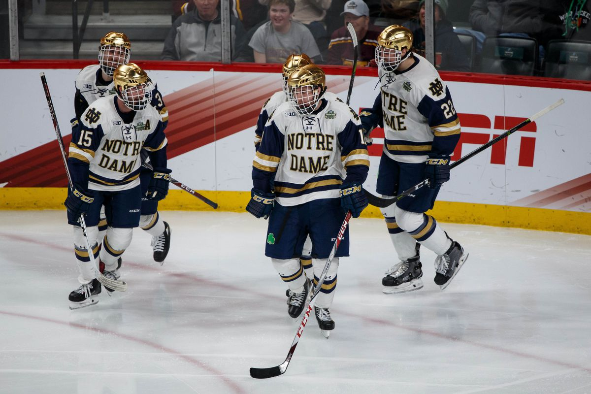 NCAA Championship Game Preview  Notre Dame VS Minnesota-Duluth ... ff292e192a