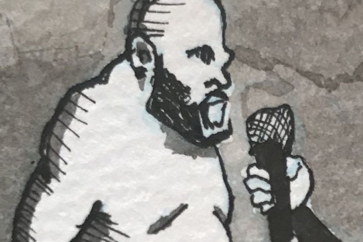 Chris Rini, MMA Squared, UFC, Edward Gorey, Derrick Lewis, Joe Rogan, UFC 249,