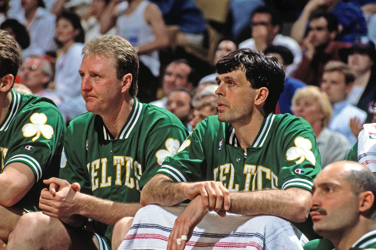 1991 NBA Playoffs: Kevin McHale and Larry Bird