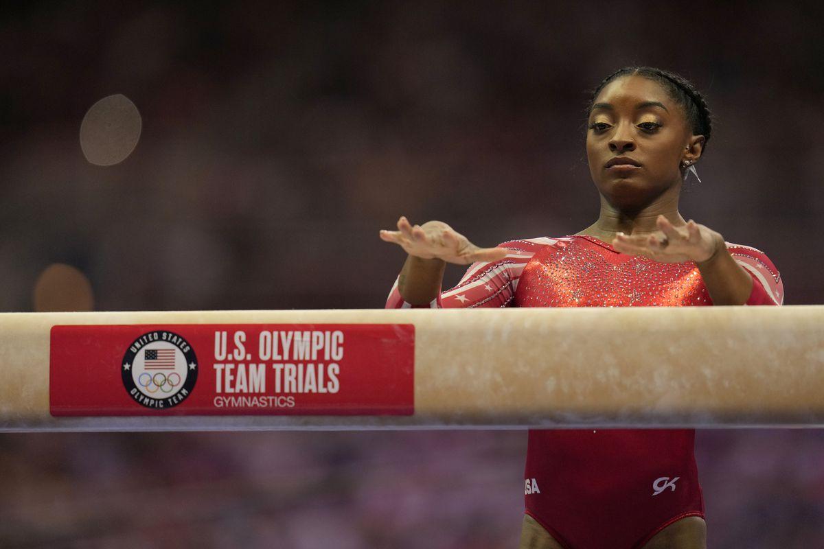 Who is Simone Biles? Gymnastics legend talks childhood, family, Olympics - Deseret News