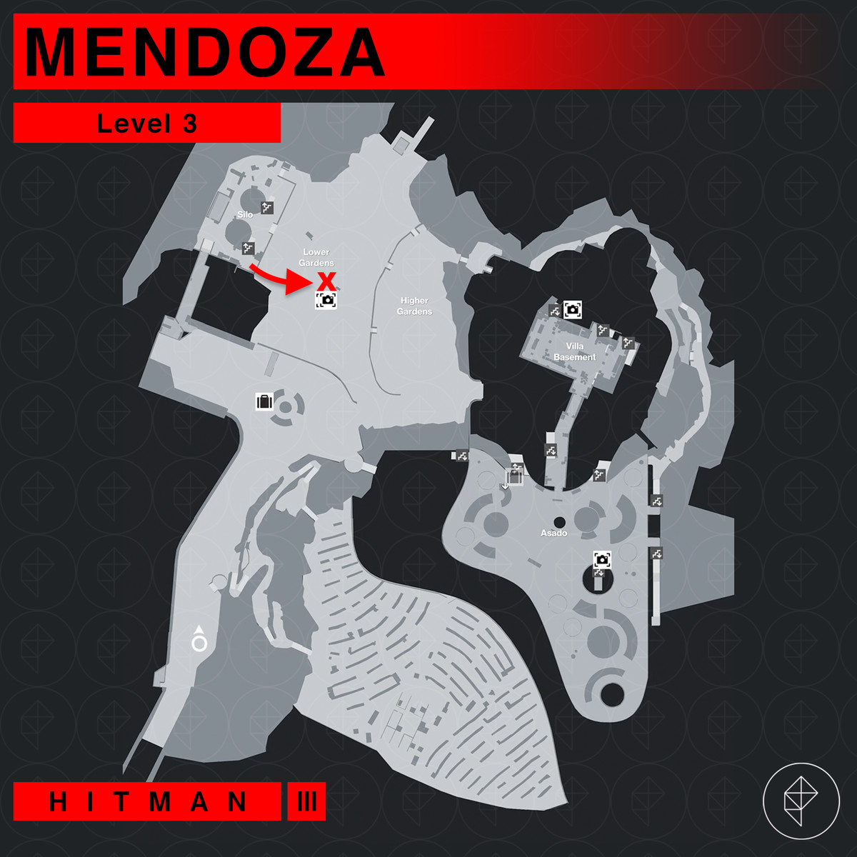 Hitman 3 Mendoza The Farewell Eyes On Target Mission Story walkthrough