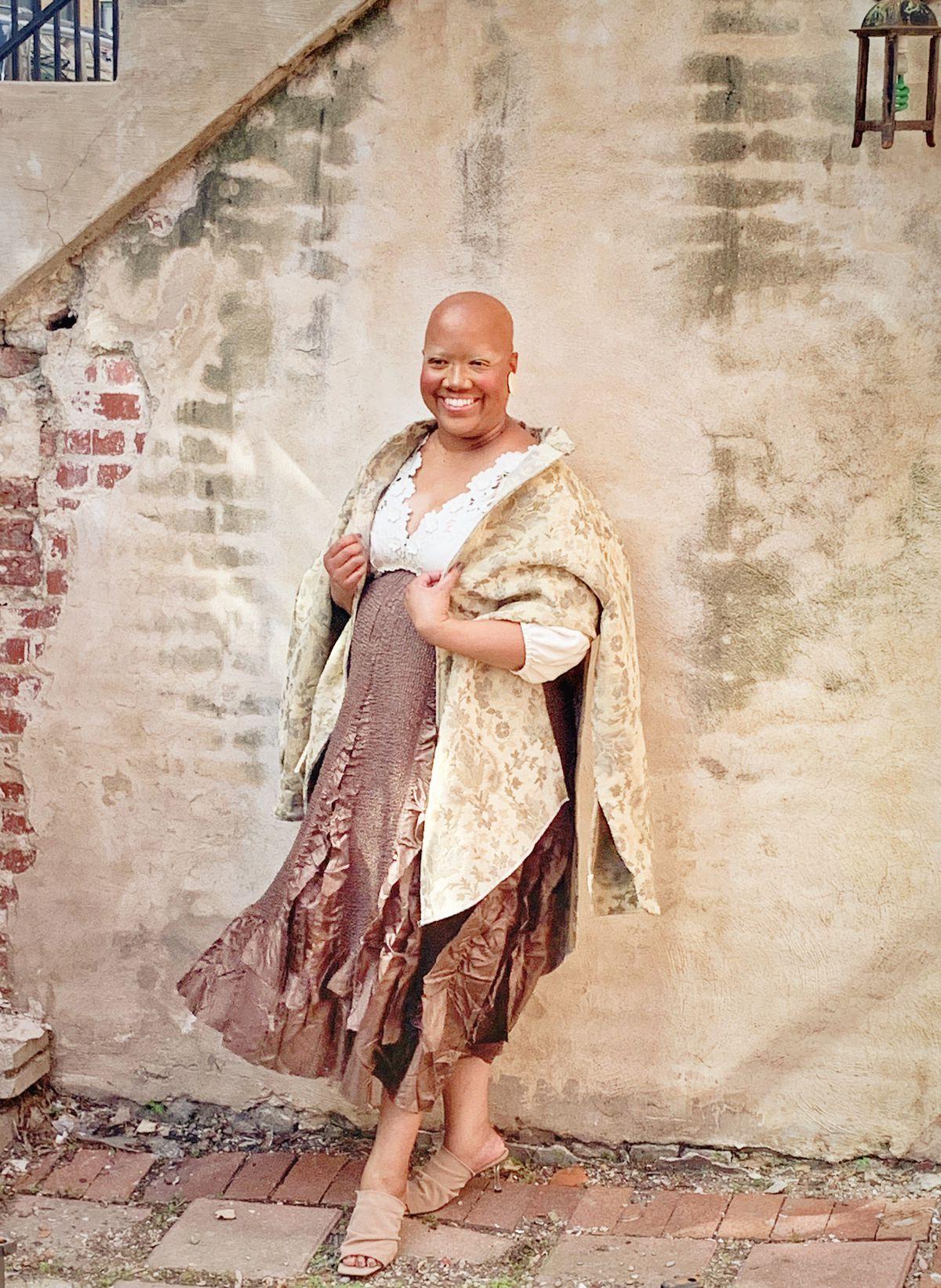 Adrienne Upchurch, breast cancer survivor.