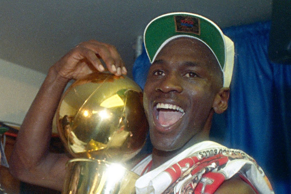 """""""This has been my most difficult year,""""Michael Jordansaid of the time between the Bulls' first two titles. """"But at the same time, it's been my most educational and maturing one."""""""