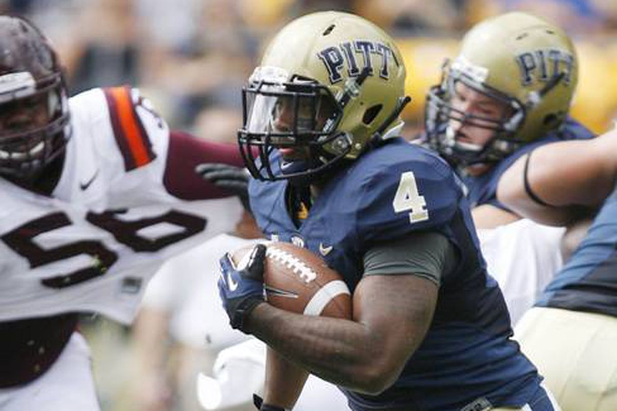Shell rushed for 151 yards against Virginia Tech