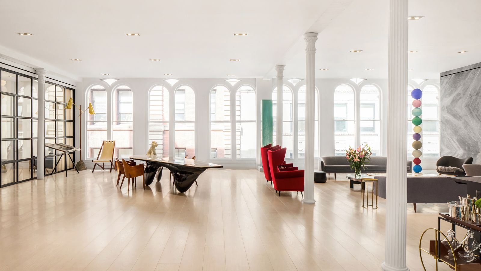 Huge tribeca loft seeks 15m after dramatic revamp curbed ny for Nyc loft for sale