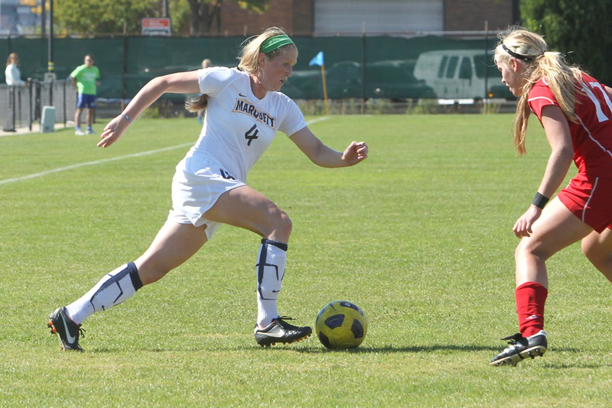 Maegan Kelly and Marquette hope to win their second straight Big East Championship.