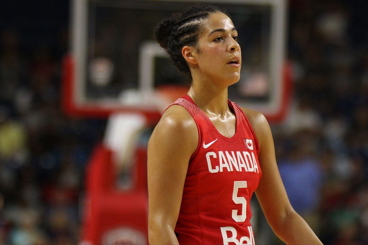 Photos: Team Canada vs Team USA Olympic Women's Basketball Exhibition Game
