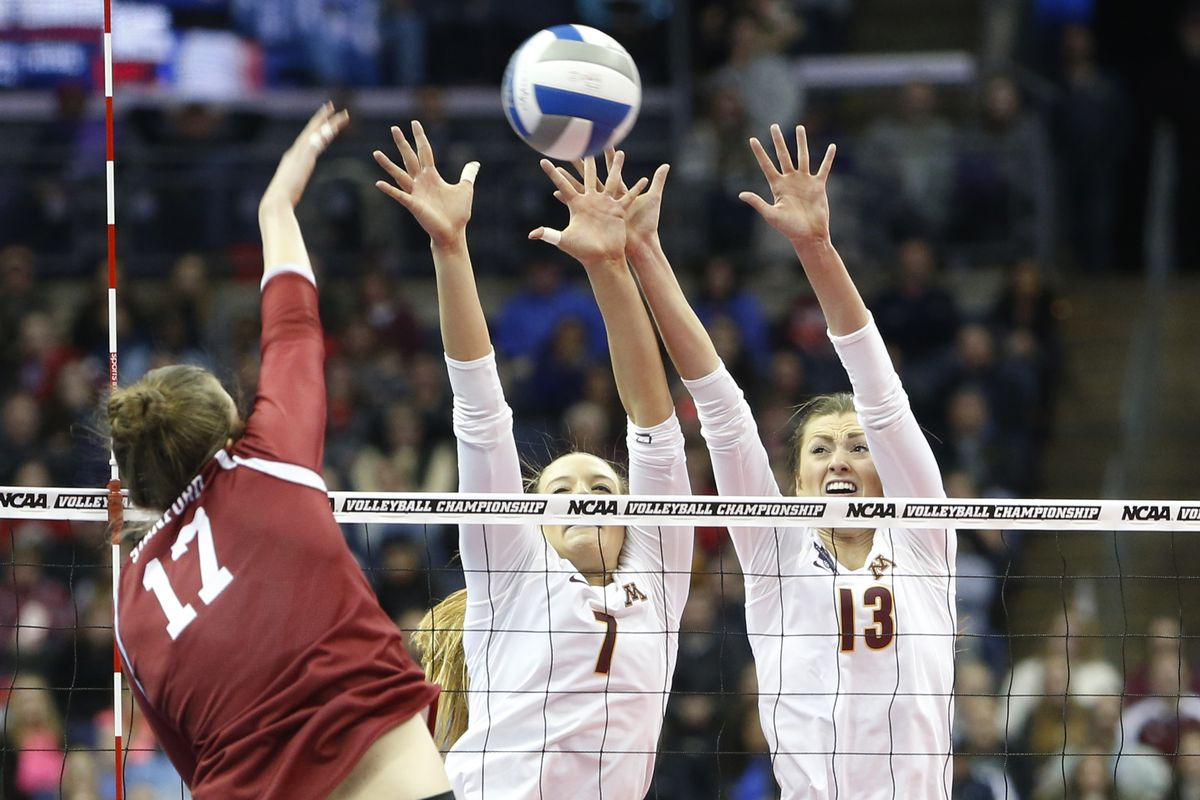 NCAA Division 1 Women's Volleyball Semifinals (NCAA Photos Archive)