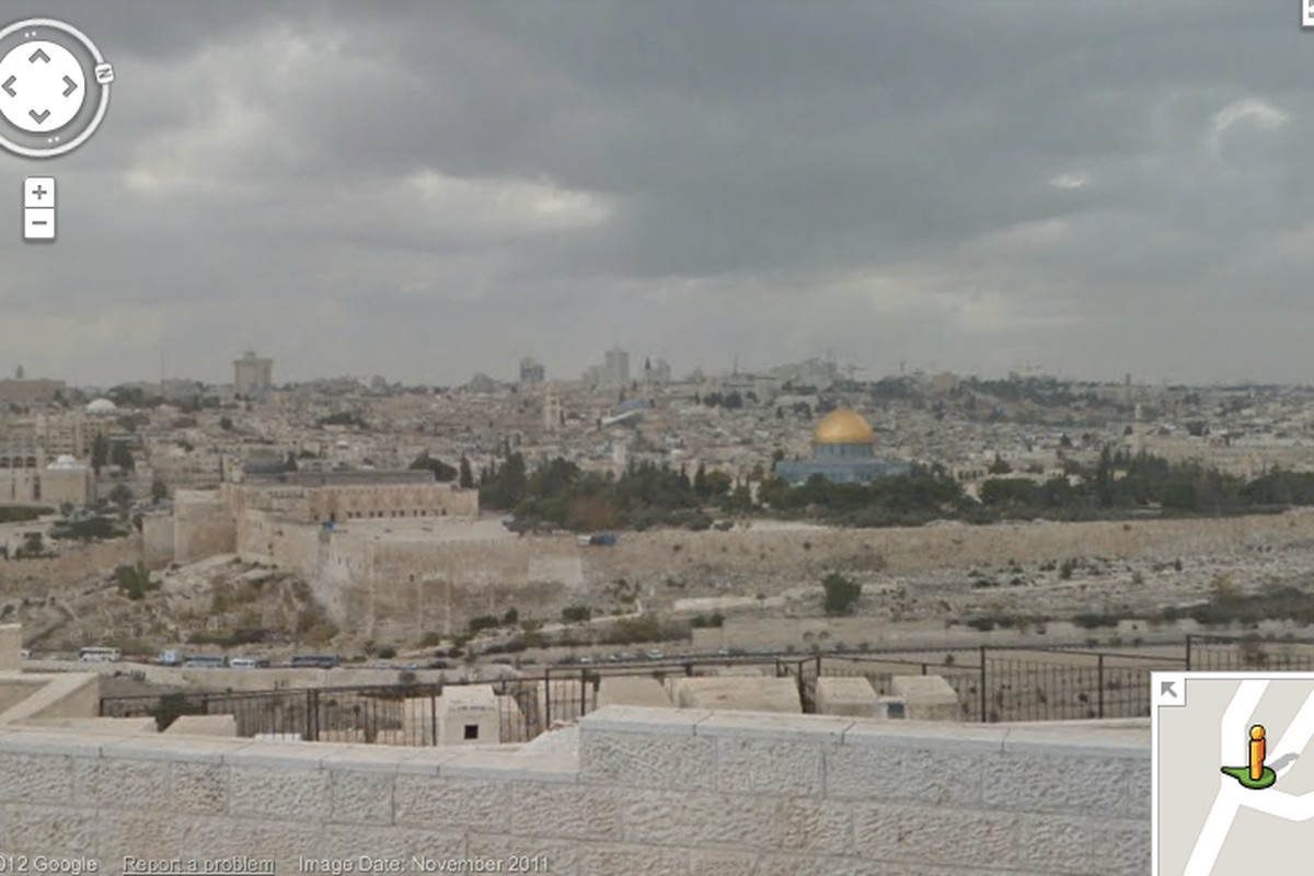 Google Maps adds Street View for Jerusalem, Tel Aviv-Jaffa ... on google earth middle east, israel line map, old town jerusalem map, google earth satellite maps, jerusalem city map, google maps logo, jerusalem location on map, maps of israel map,