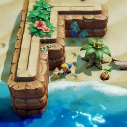 Link's Awakening Toronbo Shores Secret Seashell locations.