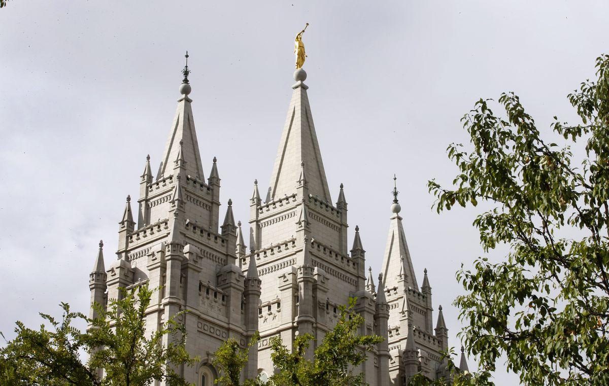 The Mormon Salt Lake Temple