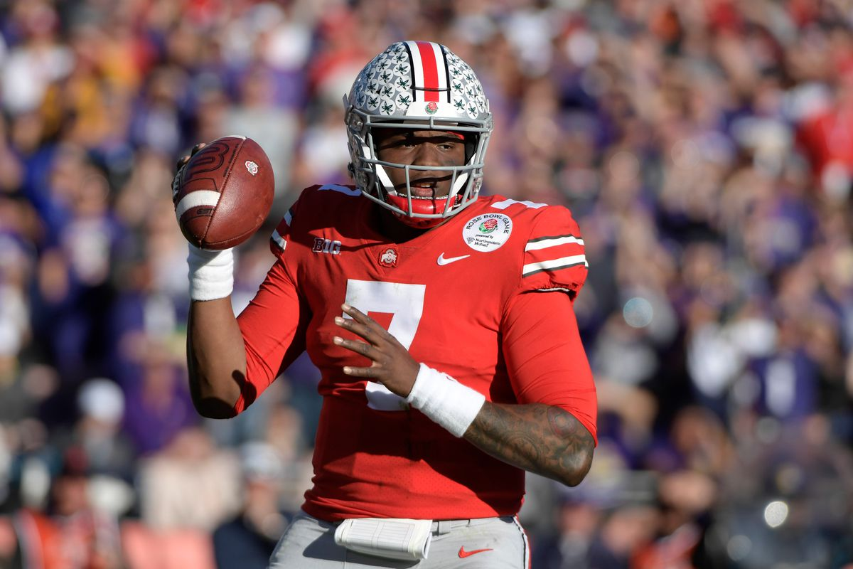 outlet store 4cad2 e34ec Anonymous scouts think Dwayne Haskins is overrated - Land ...
